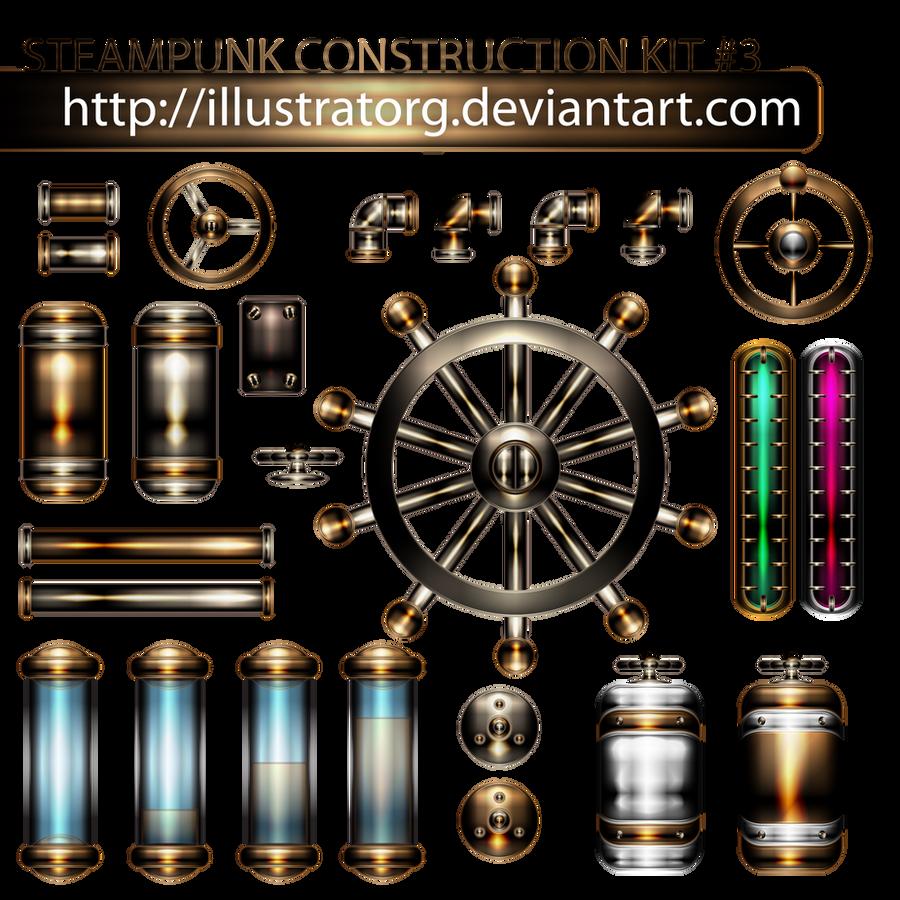 ערכת בניית Steampunk 3 על ידי IllustratorG