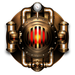 Heating boiler icon