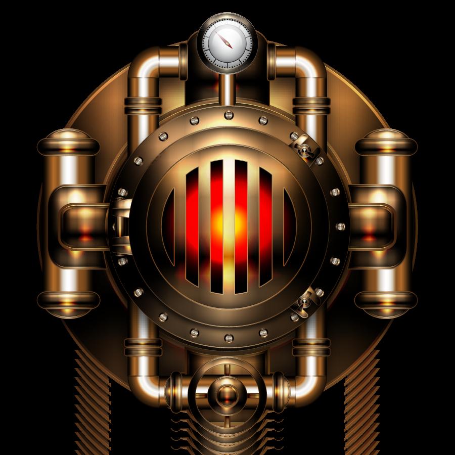 Heating boiler icon