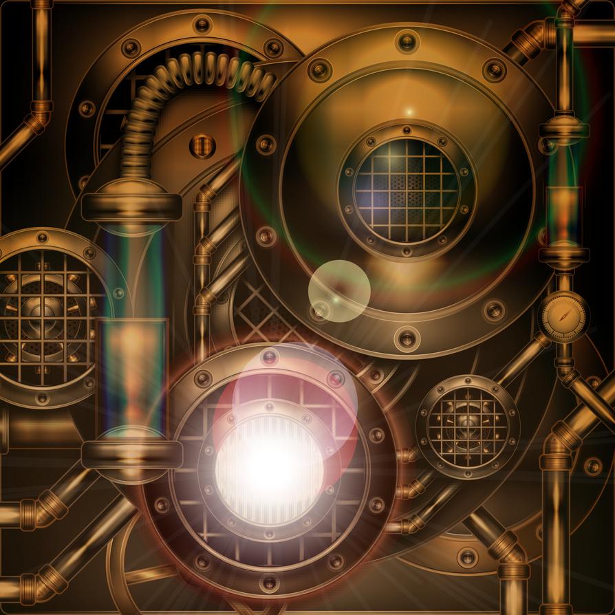 flares, lights n, steam by IllustratorG