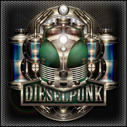 Dieselpunk Label IV the green One V2