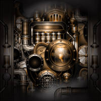 Steampunk Machine by IllustratorG