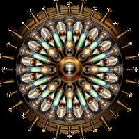 Machanical Steampunk Mandala by IllustratorG