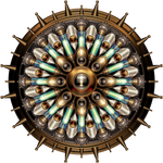 Machanical Steampunk Mandala
