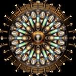 Machanical Steampunk Mandala