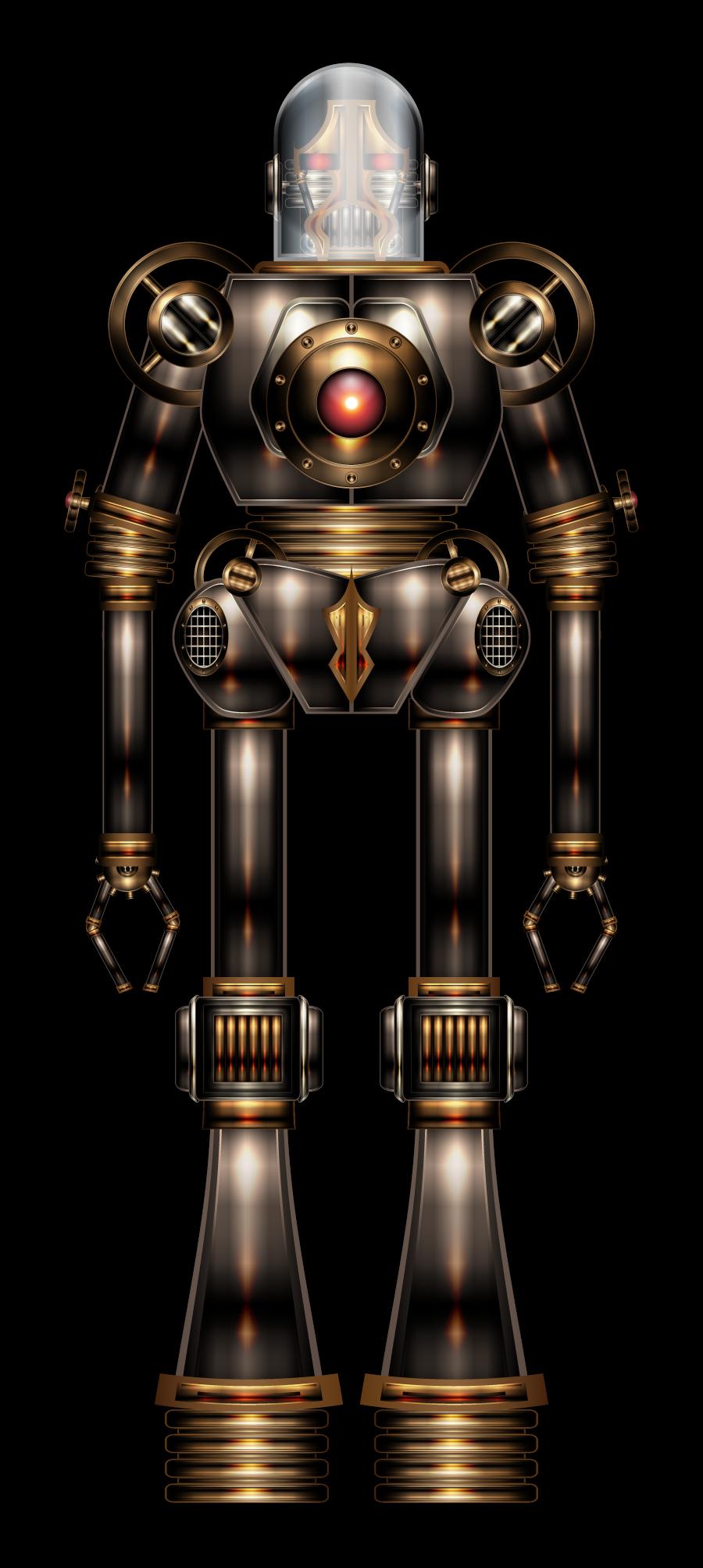 Steambot by IllustratorG