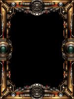 Steampunk Frame by IllustratorG