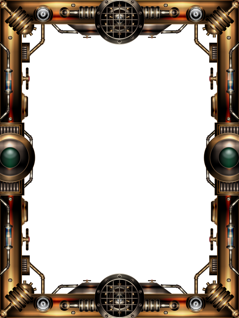 Steampunk Border Png | www.imgkid.com - The Image Kid Has It!