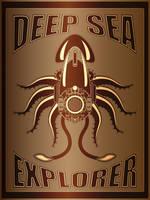 Deep Sea Explorer Poster by IllustratorG