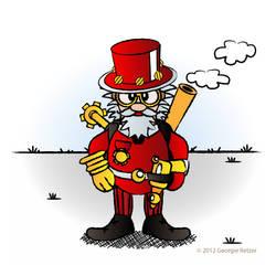 Steamy Santa by IllustratorG