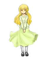 little doll by SackDrawer
