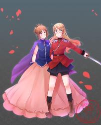 la princesse et son prince by SackDrawer