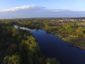 The Pilica river