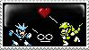 SnakemanxGeminiman Stamp by ShadowStarEXE