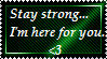 Stay Strong Stamp by ShadowStarEXE