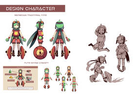 Design Character 1 by shikai1