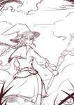 Roxy Sketch by shikai1