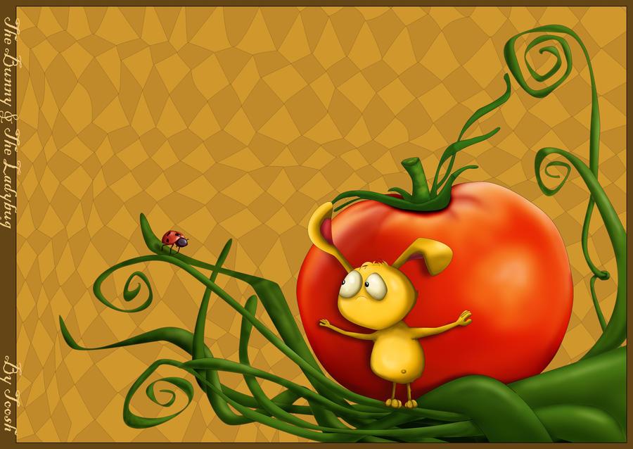 The Bunny and The Ladybug 2 by Tooshtoosh