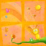 Happy Orange baby room