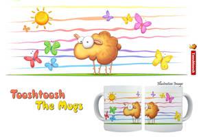 Wallo the sheep mug