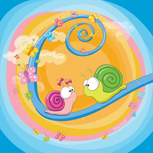 Loving snails - The return by Tooshtoosh