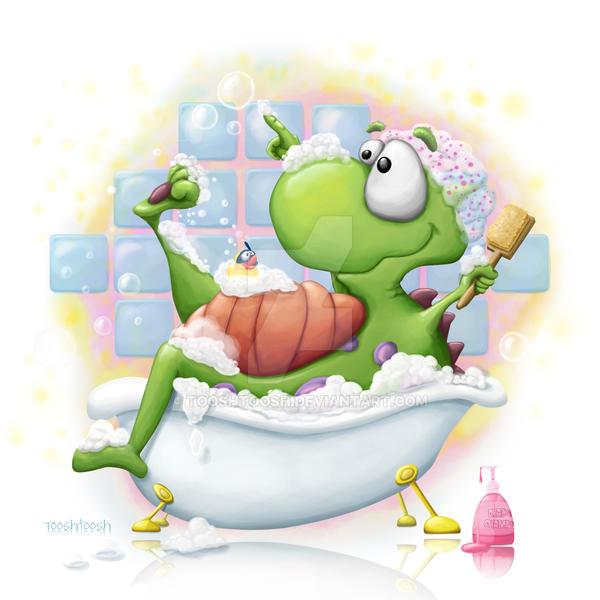 Bubble Bath by Tooshtoosh
