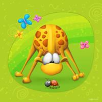 Meet The Little ones - Giraffe by Tooshtoosh