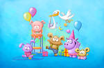 Blue Baby Party