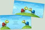 Wedding Invitation - Turtles