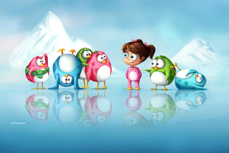 I'm a penguine too! by Tooshtoosh