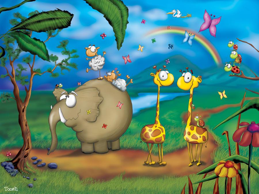 Jungle party by Tooshtoosh
