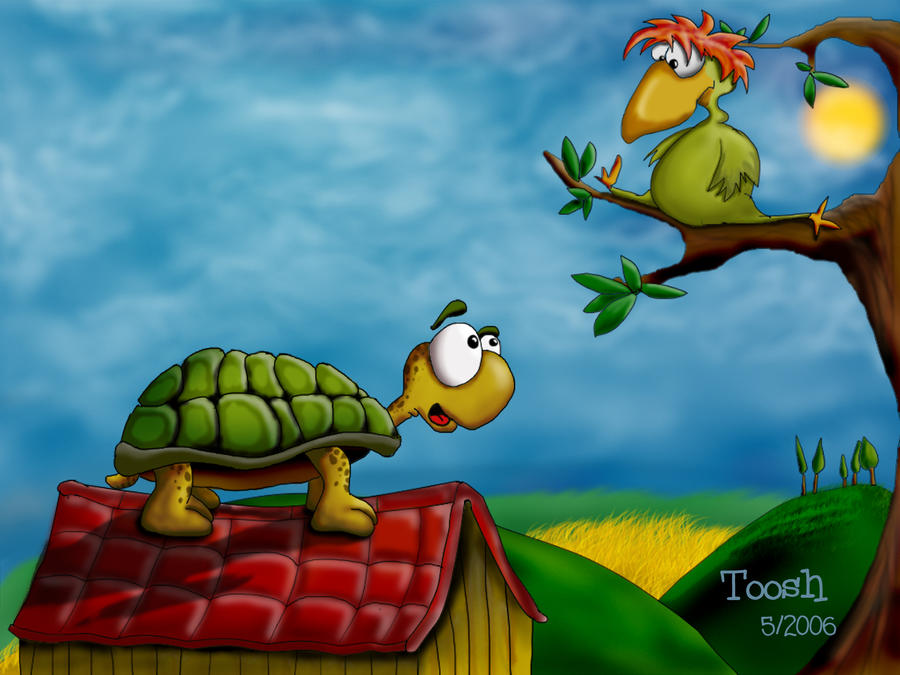 Look a Bird by Tooshtoosh