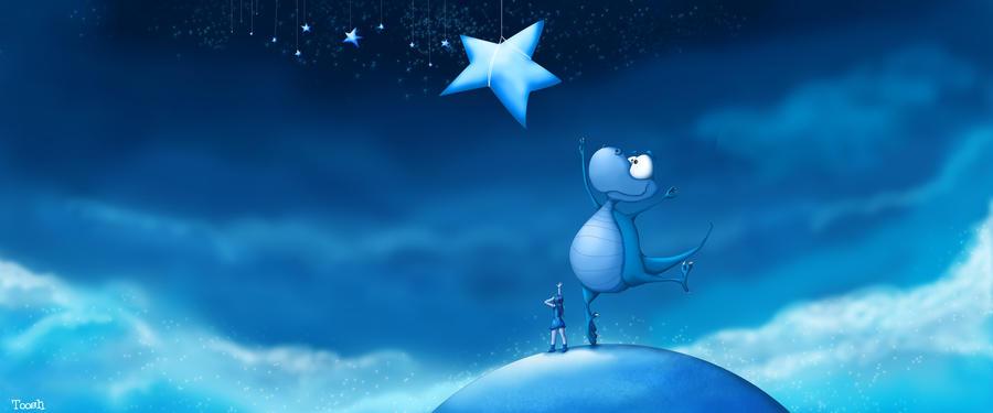 Reach for a star by Tooshtoosh