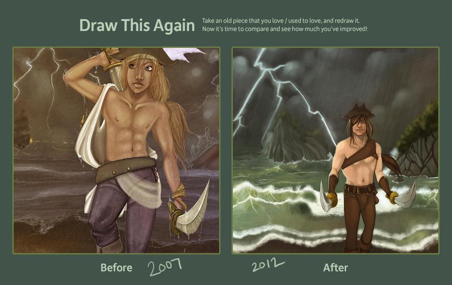 draw this again by draiad