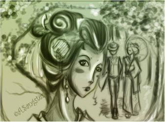 Geisha by draiad