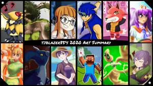 tjblazer85's 2020 Art Summary