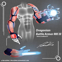 Dragonian Battle Armor MK III by tjblazer85