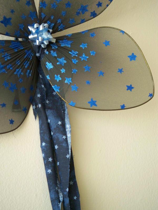Blue Stars  Party Wings by KimsButterflyGarden
