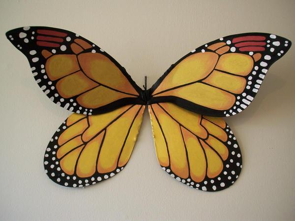 Monarch butterfly wings - photo#12