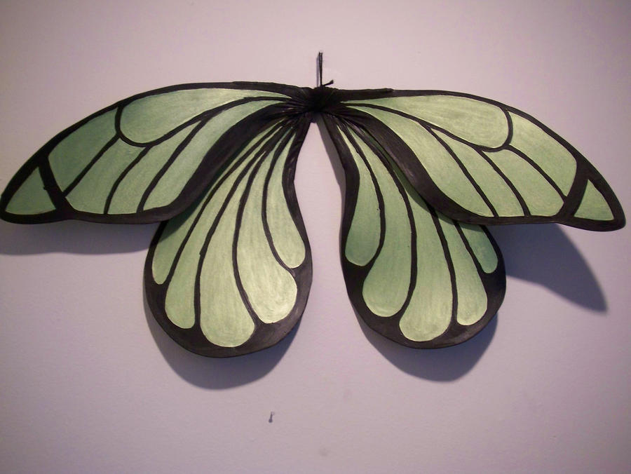 Kay Lime Fairy Wings Adult by KimsButterflyGarden So normally I punish my adult diaper wearing babies and sissies with keeping ...