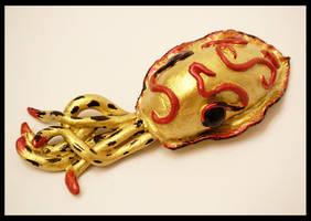Gold Cuttlefiah by KimsButterflyGarden