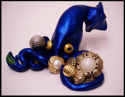 Treasure Hunter  Squid by KimsButterflyGarden