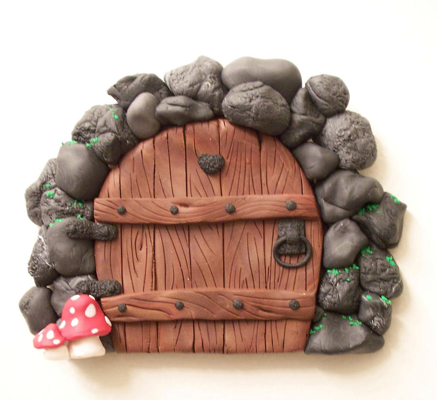 2nd Stone Arch Fairy Door by KimsButterflyGarden ...  sc 1 st  KimsButterflyGarden - DeviantArt : clay door - pezcame.com