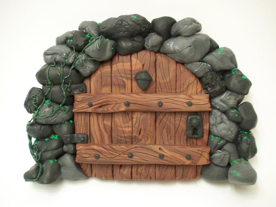 Stone Arch Acorn Fairy Door By Kimsbutterflygarden On