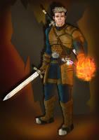 Witcher Oc by turnipheadart