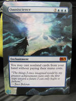 Mtg Alter: Omniscience by OhMaiAlters