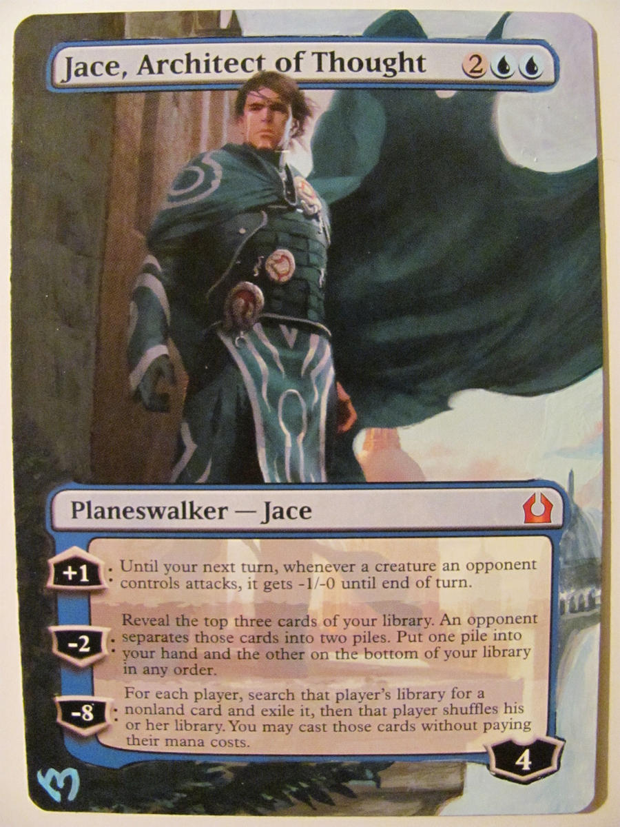MTG - Page 3  Jace Architect Of Thought Altered