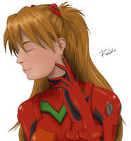 Asuka fanart by robepate