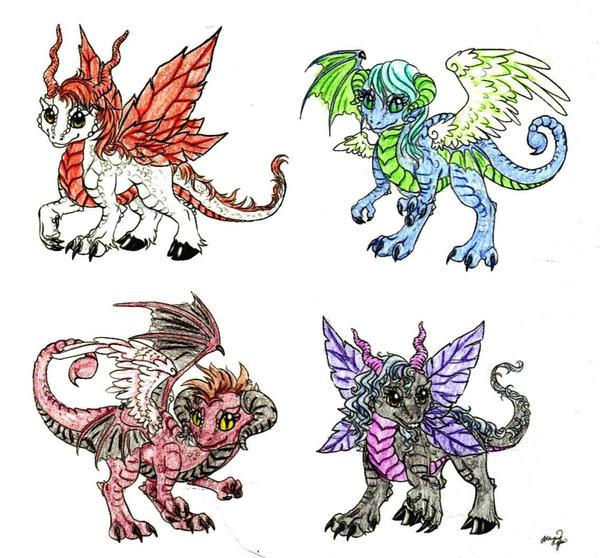 baby dragons hehe by itachigarradragon1 on deviantart