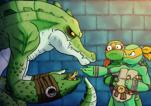 Tortoise Napper by BoxedNaga